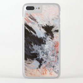 Freedom di Evita Ventimiglia Clear iPhone Case