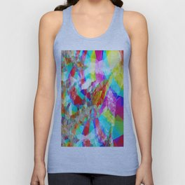 Clever Tiger Geometric 2 Unisex Tank Top
