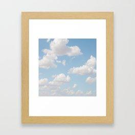Daydream Clouds Framed Art Print
