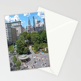 Union Square, NYC Stationery Cards