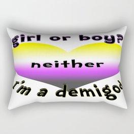 Demigod Rectangular Pillow
