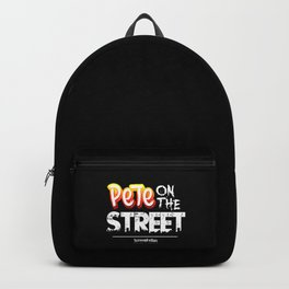 Pete On The Street - ScreenFellas Backpack