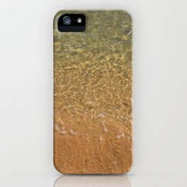 the shore iPhone Case