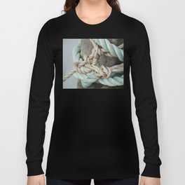 TIED TO THE MOORING #1 Long Sleeve T-shirt