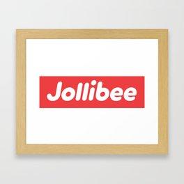 Jollibee Box Logo Framed Art Print