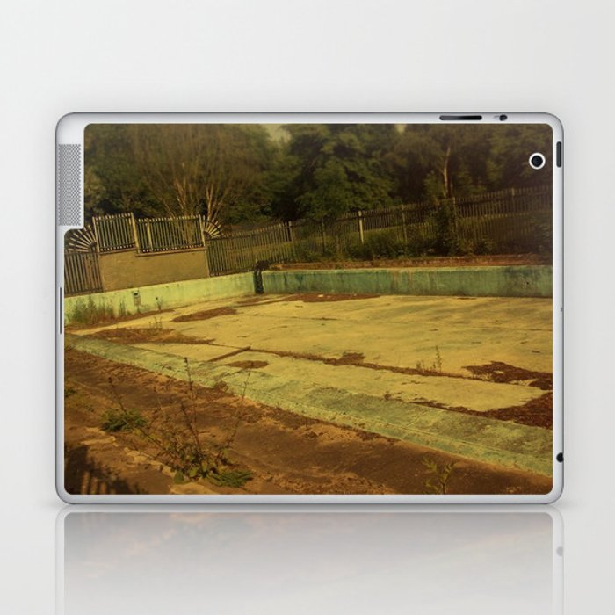 Abandoned Pool Laptop & iPad Skin