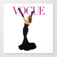 Vintage Vogue Canvas Print