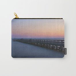 Hilton Pier at Sunset Carry-All Pouch