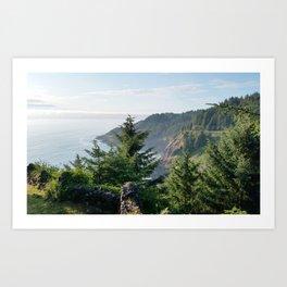 Cape Foulweather Vantage Point Art Print