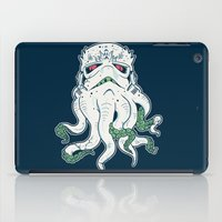 lovecraft iPad Cases featuring Stormthulhu by Hillary White