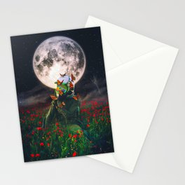 Under The Moon Spell  Stationery Cards