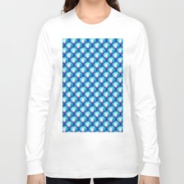 C13D Mermaid Blue Long Sleeve T-shirt