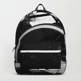 Train Wheels Backpack