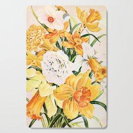 Wordsworth  and the daffodils. Cutting Board