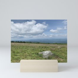 on top of roan mountain Mini Art Print