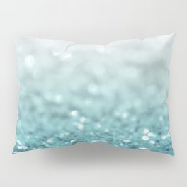 MERMAID GLITTER - MERMAIDIANS AQUA Pillow Sham