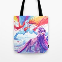 mlp Tote Bags featuring MLP by Cari Corene