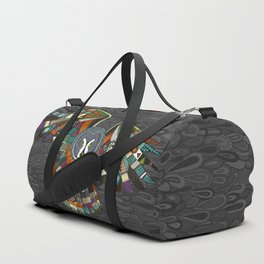 night owl charcoal Duffle Bag