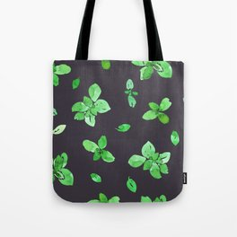 Vegan Basil Twilight Tote Bag