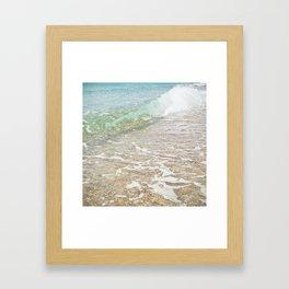 Rolling In Framed Art Print