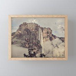 Angel Falls Old Impressed Filigrane Asian Like Similar Framed Mini Art Print