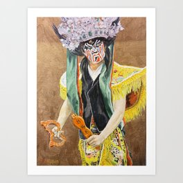 Chinese culture Art Print