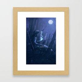 In Her Memory Framed Art Print
