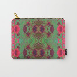 Pink and green marble Carry-All Pouch
