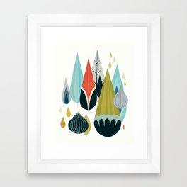 Mod Drops Framed Art Print