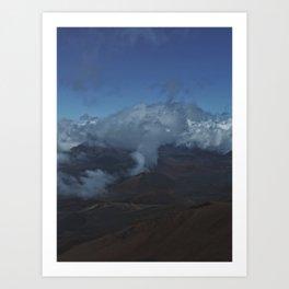Blue Maui Art Print