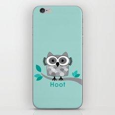 Hoot - Owl in a Tree iPhone & iPod Skin