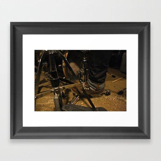 DrumMess Framed Art Print