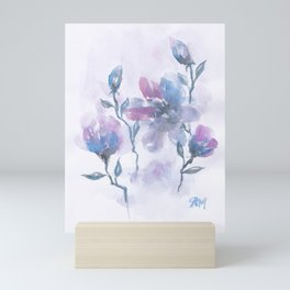 Watercolor Floral #2 Mini Art Print