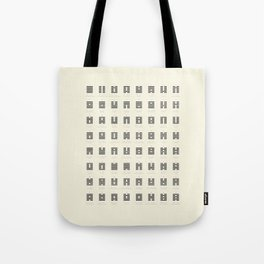 I Ching Chart With 64 Hexagrams (King Wen sequence) Tote Bag