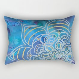 Mystical Mandala Rectangular Pillow