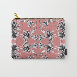 Lilium floral mirror Carry-All Pouch
