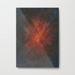 By the Campfire Metal Print