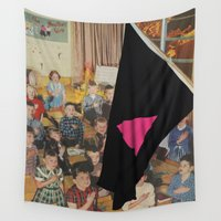 queer Wall Tapestries featuring Queer Nation (…Under God) by BRENT PRUITT