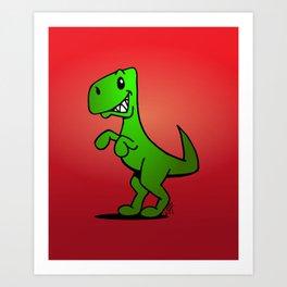 T-Rex - Dinosaur Art Print