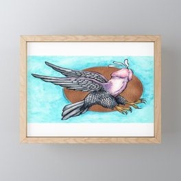 Flying Fuck Framed Mini Art Print