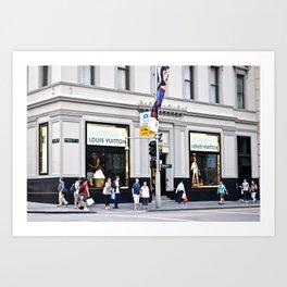 LV building Art Print