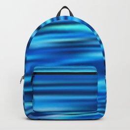 Blue Tussle Backpack