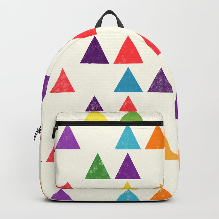 Lovely geometric Pattern XII Backpack