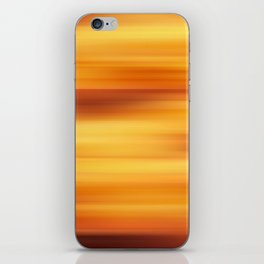 Abstract background blur motion sun stripes iPhone Skin