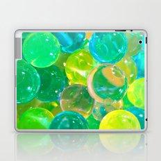 GREEN GLISTENING BUBBLY BUBBLES Laptop & iPad Skin
