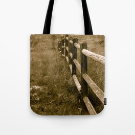 Wyoming Frontier Tote Bag