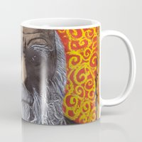darwin Mugs featuring Charles Darwin by Ibbanez