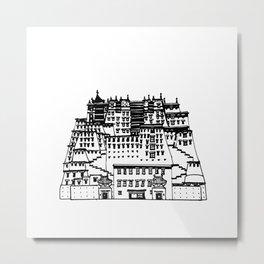 Potala Palace Metal Print