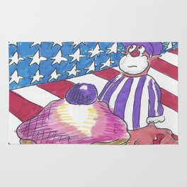 American Cupcake Rug
