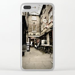 Alley - York 11 Grape Ln Clear iPhone Case